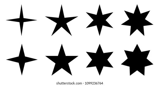 Seven Pointed Star Images, Stock Photos & Vectors