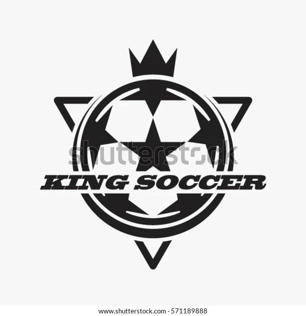 Soccer Football Club Logo Badge Vector Stock Vector
