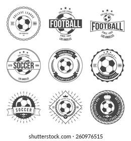 Football Tournament Logo Images, Stock Photos & Vectors