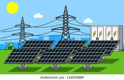 Cartoon Solar Energy Images Stock Photos Vectors Shutterstock