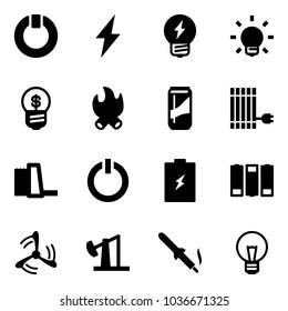 ภาพ ภาพสต็อก และเวกเตอร์ของ Electricity Icon Collection