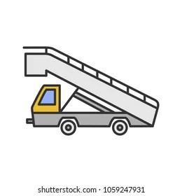 Truck with Ramp Stock Vectors, Images & Vector Art