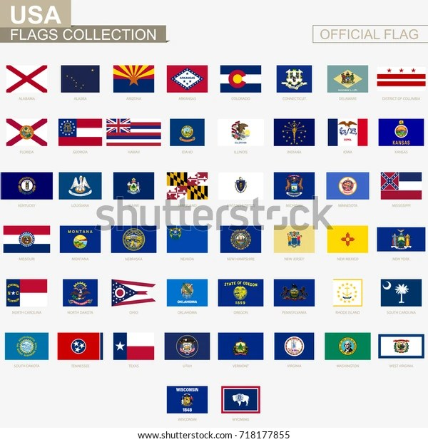 state flags united states