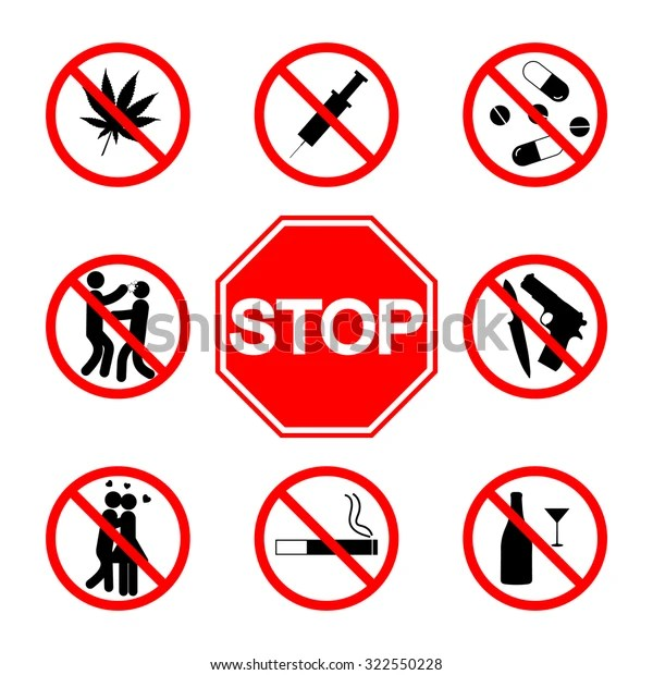 stop sign do not
