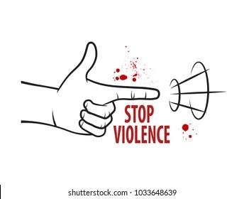 Anti-violence Stock Vectors, Images & Vector Art