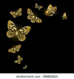 Cute Wallpaper With White Background Gold Butterfly Images Stock Photos Amp Vectors Shutterstock