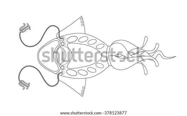 squid coloring pic # 31