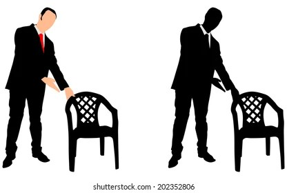 Offering a Chair Stock Vectors, Images & Vector Art