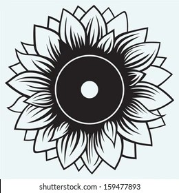 sunflower clip art stock