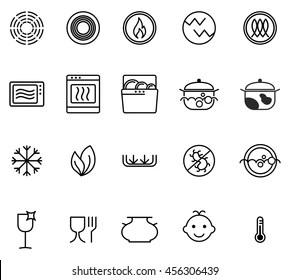 https www shutterstock com image vector symbols food grade metal indicate properties 456306439