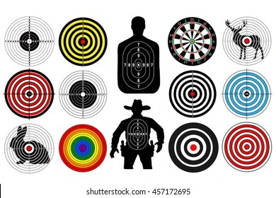 target shooting images stock