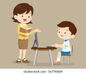Student Teacher Cartoon Images Stock Photos & Vectors Shutterstock