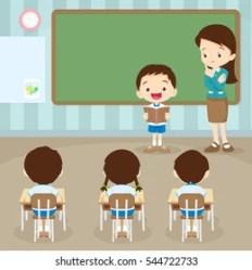 College Student Teacher Cartoon Images Stock Photos & Vectors Shutterstock