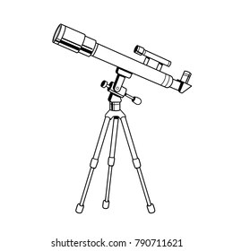 Telescope Pop Art Stock Illustrations, Images & Vectors