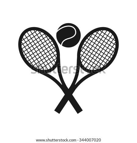Tennis Logo Vector Tennis Academy Logo Stock Vector