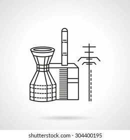Cooling Tower Icon Images, Stock Photos & Vectors