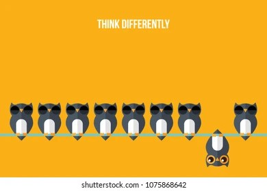 being different images stock