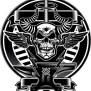 Thor Hammer Skull Stock Vector Royalty Free 298550084
