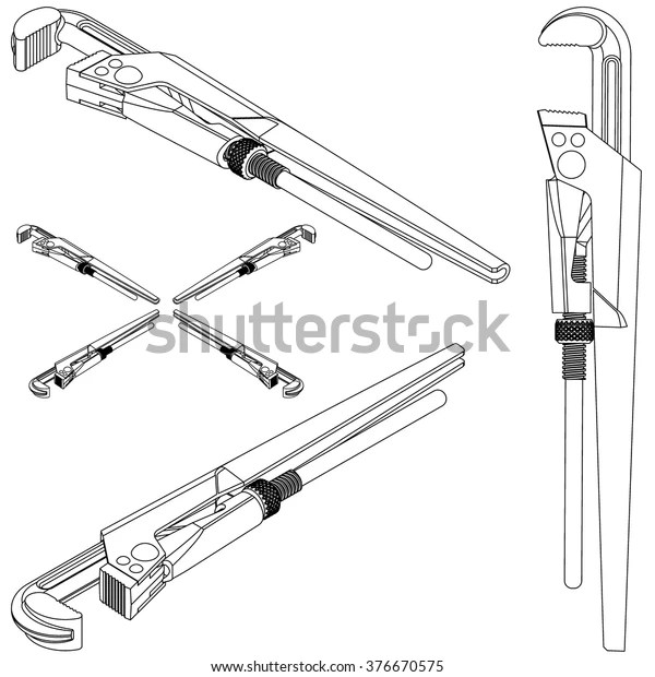 Isometric Tool Pipe Drawing
