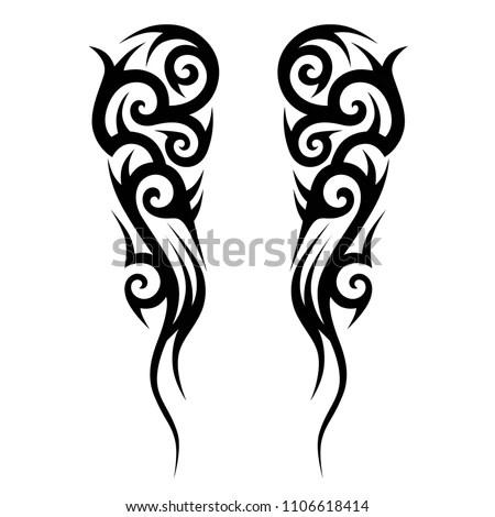 Tribal Tattoos Designs Hand