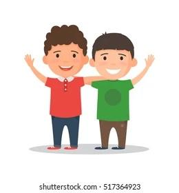 hug friends cartoon images