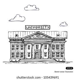 University Building Images, Stock Photos & Vectors