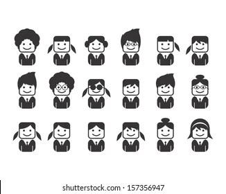 Three People Office Stock Illustrations, Images & Vectors