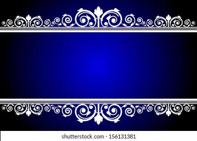 royal blue stock