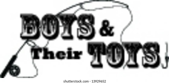 Father and Boy Fishing Stock Illustrations, Images