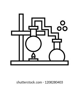 retort stand and clamp diagram wiring 2 subs images stock photos vectors shutterstock laboratiry illustration with bulb burner chemistry