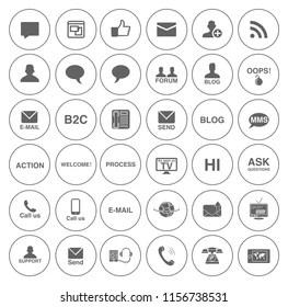 Imágenes, fotos de stock y vectores sobre Chat Symbol