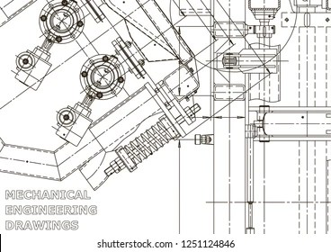 Vector Engineering Drawing Images, Stock Photos & Vectors