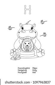 Hummingbird Clipart Stock Illustrations, Images & Vectors