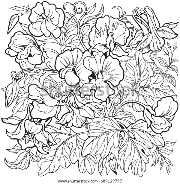sweet pea coloring pages # 58