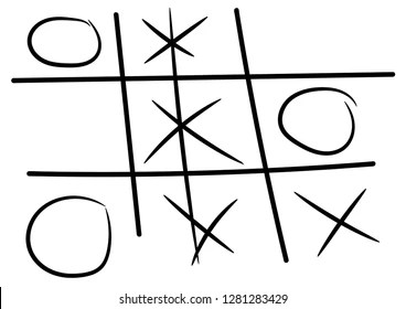 Noughts And Crosses Images, Stock Photos & Vectors