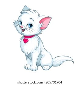 cartoon cat images stock