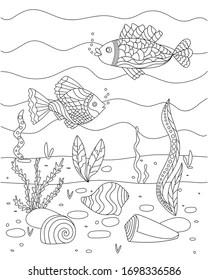 Ocean Floor Project & Worksheets   Teachers Pay Teachers