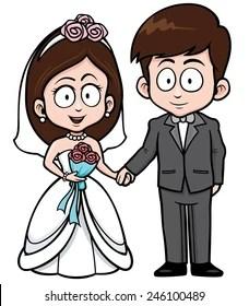 Wedding Cartoon Images : wedding, cartoon, images, Bridegroom, Cartoon, Stock, Images, Shutterstock