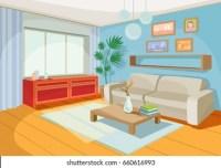 Cartoon Living Room Images, Stock Photos & Vectors ...