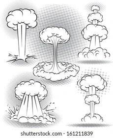 Atomic Bomb Explosion Images, Stock Photos & Vectors