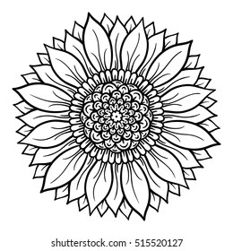 Mandala Coloring Pages Images, Stock Photos & Vectors