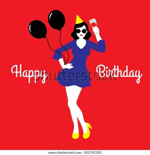 vector illustration happy birthday