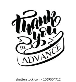 Thanks in Advance Images, Stock Photos & Vectors