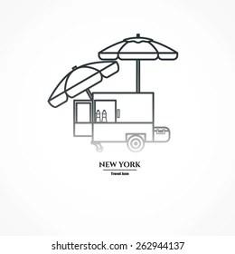 Hot Dog Stand Stock Vectors, Images & Vector Art