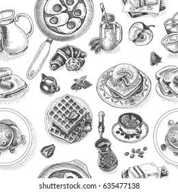 Breakfast Menu Imágenes, fotos y vectores de stock