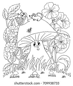 Mouse Coloring Page Images, Stock Photos & Vectors