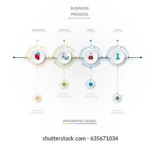 Process Map Flow Chart Stock Vectors, Images & Vector Art