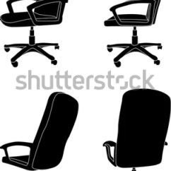 Office Chair Vector Wholesale White Covers For Wedding Stock Royalty Free 82380271 Shutterstock