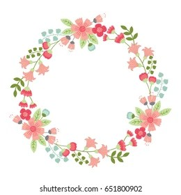 floral wreath images stock