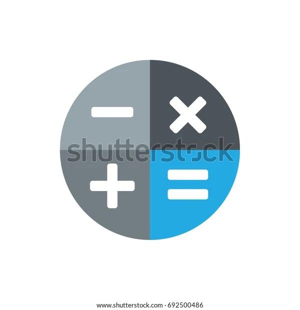 vector round math calculator